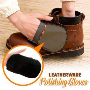 Leatherware Polishing Gloves