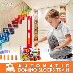 Automatic Domino Blocks Train