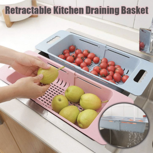 Retractable Kitchen Draining Basket