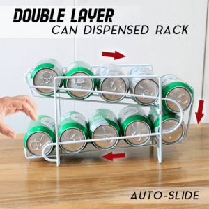 Double Layer Can Dispensed Rack