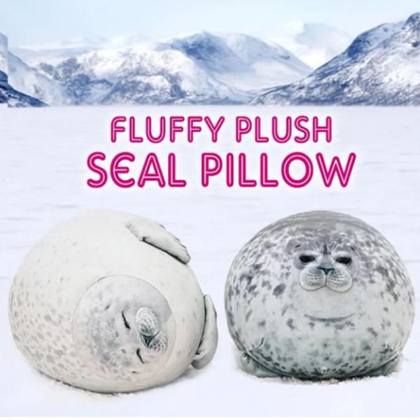 Bouncy Chubby Seal Super Soft Cushion