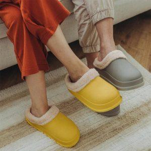Waterproof Cotton Slippers
