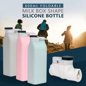 Folding Milk Carton Water Bottle