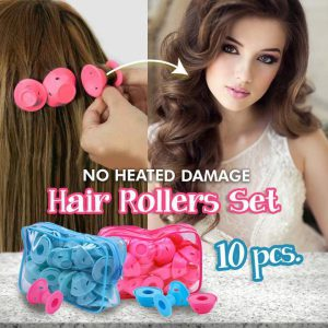 No Heated Damage Hair Rollers Set (10pcs)
