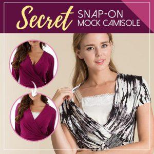 Secret Snap-On Mock Camisole (3PCS)