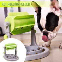 Pets Roller-Type Leaking Feeder
