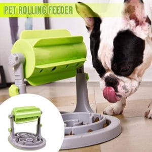 Pets Roller-Type Leaking Feeder