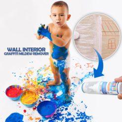 Wall Interior Graffiti Mildew Remover