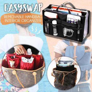 EasySwap Removable Handbag Interior Organizer