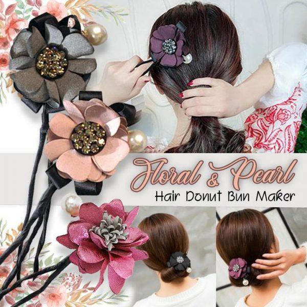 Floral Donut Bun Maker