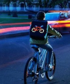 APP control LED Smile Backpack