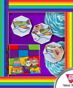 FUNArtz Rainbow Rope Painting Kit