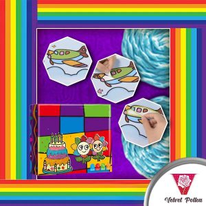FUNArtz Rainbow Rope Painting Kit