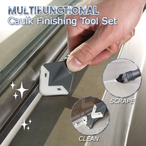 Multifunctional Caulk Finishing Tool Set