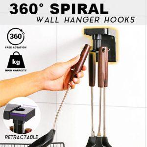 360° Spiral Wall Hanger Hook