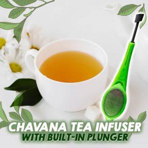 Chavana Tea Infuser With Built-in Plunger