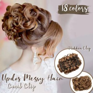 Updos Messy Hair Comb Clip