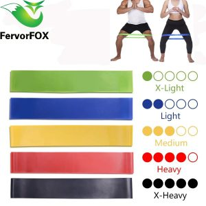 RESISTANCE BANDS (5PCS PER SET)