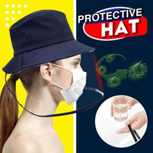 Airborne Transmission Full Face Isolation Protective Hat
