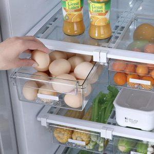 Retractable Refrigerator Storage Drawer