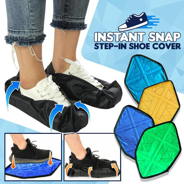 Instant Snap Step-In Shoe Covers