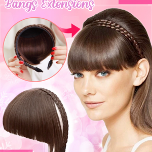 Instant Braided Hair Bangs Extensions