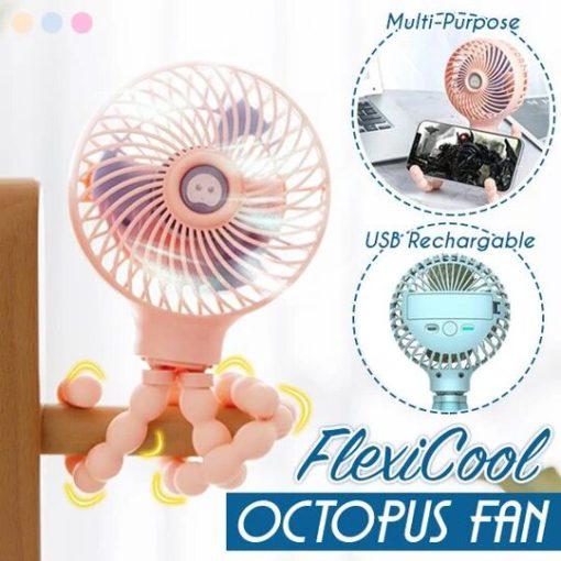 FlexiCool Octopus Fan