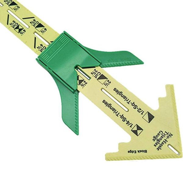Five-in-one Patchwork Ruler Tailor Tool