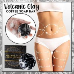 Volcanic Clay Coffee Soap Bar