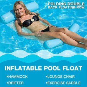 New Multi-Purpose Inflatable Pool Float