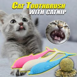 Cat Toothbrush with Catnip