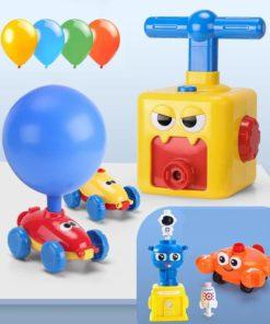 Balloon Launcher & Powered Car Toy Set
