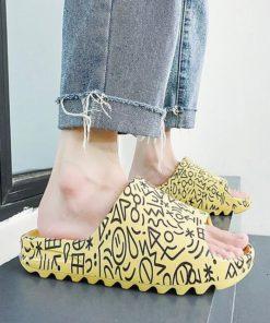 2020 Couple Platform Slippers