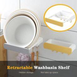 Punch-free Retractable Shelf