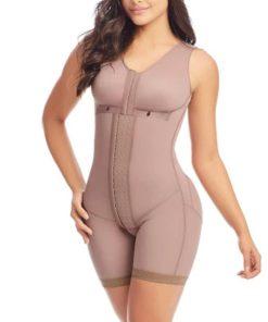 Full Body Shaper Post Compression Garment with Bra