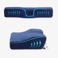 Dish-shaped Gel Pillow
