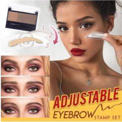 Adjustable Eyebrow Stamp Set
