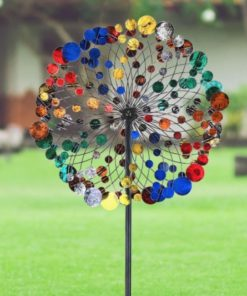 Colorful Disc Wind Spinner