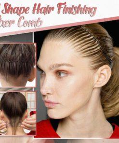 U Shape Hair Finishing Fixer Comb