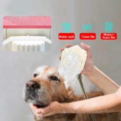 Grooming Sprayer And Massage Brush With Shower Gel