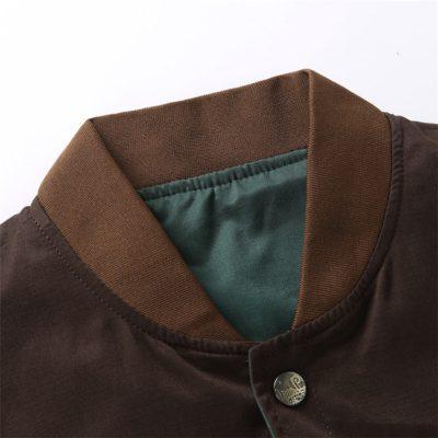 Baseball Collar Casual Jacket