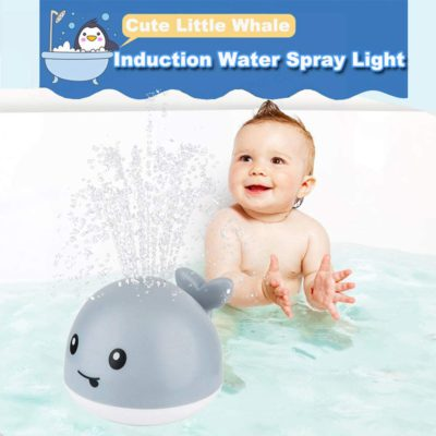 Wille the Sprinkler Whale Bath Toy