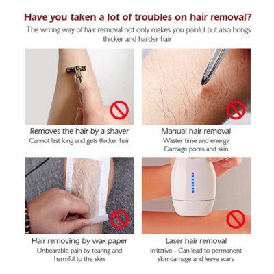 Natural Hair Removal Spray