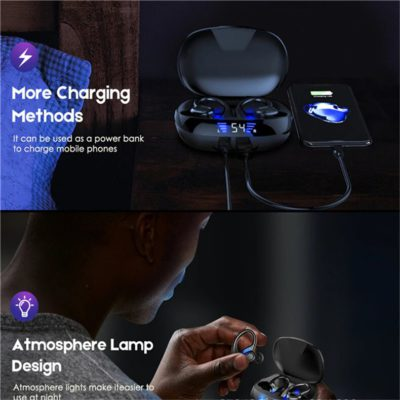 HiFi Stereo Noise Cancelling Sports Headphones