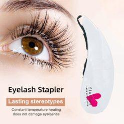 Beginner eyelash stapler