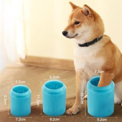 Portable Dog Paw Cleaner For Combing Dirty Paws
