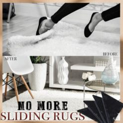 Non-slip Rug Grippers Eco-friendly & Reusable (4PCS)