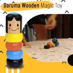 Hot Sale Immortal Daruma Wooden Magic Toy(40% OFF)