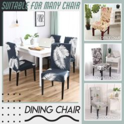 Universal Slip-On Chair Covers