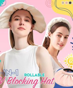 2-in-1 Rollable UV Blocking Hat